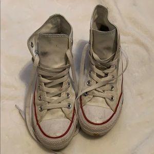 Converse- high tops white